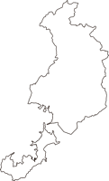山口県下松市(くだまつし)の白地図無料ダウンロード