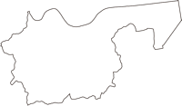 山口県玖珂郡和木町(わきちょう)の白地図無料ダウンロード