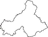山口県阿武郡阿武町(あぶちょう)の白地図無料ダウンロード