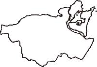 徳島県鳴門市(なるとし)の白地図無料ダウンロード