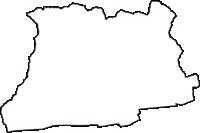 徳島県阿波市(あわし)の白地図無料ダウンロード