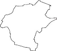 徳島県板野郡北島町(きたじまちょう)の白地図無料ダウンロード