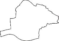 徳島県板野郡藍住町(あいずみちょう)の白地図無料ダウンロード