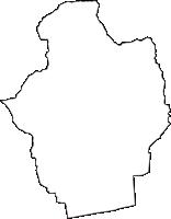 徳島県板野郡板野町(いたのちょう)の白地図無料ダウンロード