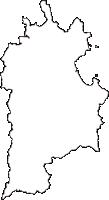 香川県さぬき市(さぬきし)の白地図無料ダウンロード