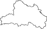香川県東かがわ市(ひがしかがわし)の白地図無料ダウンロード