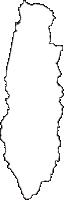 香川県木田郡三木町(みきちょう)の白地図無料ダウンロード
