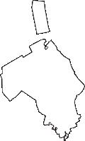香川県綾歌郡宇多津町(うたづちょう)の白地図無料ダウンロード