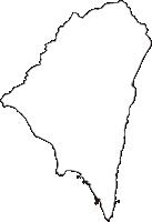 高知県室戸市(むろとし)の白地図無料ダウンロード