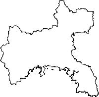 高知県土佐清水市(とさしみずし)の白地図無料ダウンロード