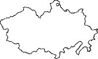 ���������������������������������������������������������の白地図無料ダウンロード