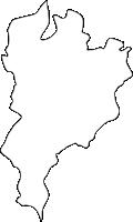 福岡県八幡東区(やはたひがしく)の白地図無料ダウンロード