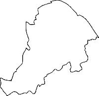 福岡県南区(みなみく)の白地図無料ダウンロード