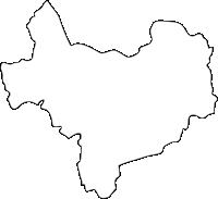 福岡県直方市(のおがたし)の白地図無料ダウンロード