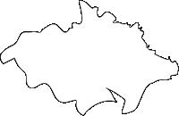 福岡県中間市(なかまし)の白地図無料ダウンロード