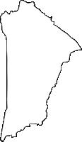 福岡県小郡市(おごおりし)の白地図無料ダウンロード