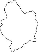 福岡県春日市(かすがし)の白地図無料ダウンロード