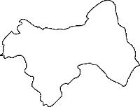 福岡県宇美町(うみまち)の白地図無料ダウンロード
