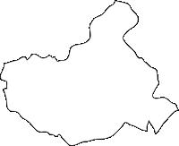 福岡県篠栗町(ささぐりまち)の白地図無料ダウンロード
