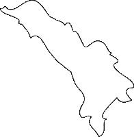福岡県志免町(しめまち)の白地図無料ダウンロード