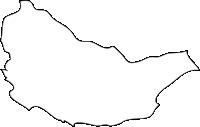 福岡県須恵町(すえまち)の白地図無料ダウンロード