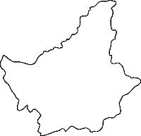 福岡県久山町(ひさやままち)の白地図無料ダウンロード