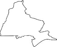 福岡県大刀洗町(たちあらいまち)の白地図無料ダウンロード