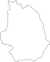福岡県添田町(そえだまち)の白地図無料ダウンロード