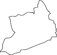 福岡県糸田町(いとだまち)の白地図無料ダウンロード