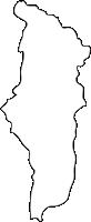 福岡県川崎町(かわさきまち)の白地図無料ダウンロード