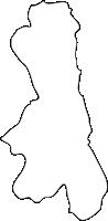 福岡県大任町(おおとうまち)の白地図無料ダウンロード