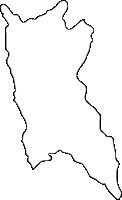 福岡県赤村(あかむら)の白地図無料ダウンロード