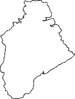 佐賀県鹿島市(かしまし)の白地図無料ダウンロード