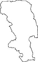 佐賀県小城市(おぎし)の白地図無料ダウンロード
