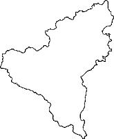 佐賀県嬉野市(うれしのし)の白地図無料ダウンロード