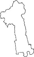 佐賀県神埼市(かんざきし)の白地図無料ダウンロード