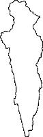 佐賀県吉野ヶ里町(よしのがりちょう)の白地図無料ダウンロード