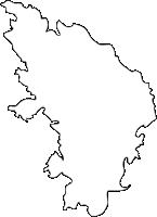佐賀県玄海町(げんかいちょう)の白地図無料ダウンロード