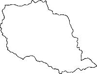 佐賀県有田町(ありたちょう)の白地図無料ダウンロード