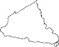 佐賀県太良町(たらちょう)の白地図無料ダウンロード