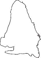 長崎県島原市(しまばらし)の白地図無料ダウンロード