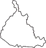 熊本県人吉市(ひとよしし)の白地図無料ダウンロード
