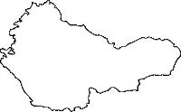 熊本県水俣市(みなまたし)の白地図無料ダウンロード