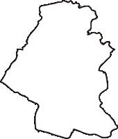 熊本県玉名市(たまなし)の白地図無料ダウンロード