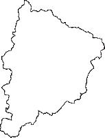 熊本県山鹿市(やまがし)の白地図無料ダウンロード