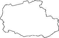 熊本県阿蘇市(あそし)の白地図無料ダウンロード