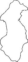 熊本県玉東町(ぎょくとうまち)の白地図無料ダウンロード