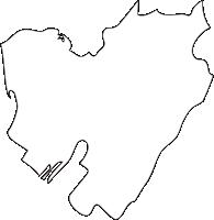熊本県長洲町(ながすまち)の白地図無料ダウンロード