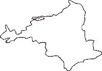 熊本県菊陽町(きくようまち)の白地図無料ダウンロード