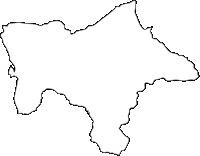 熊本県高森町(たかもりまち)の白地図無料ダウンロード